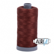 Aurifil 28 Cotton Thread - 2360 (Brown)